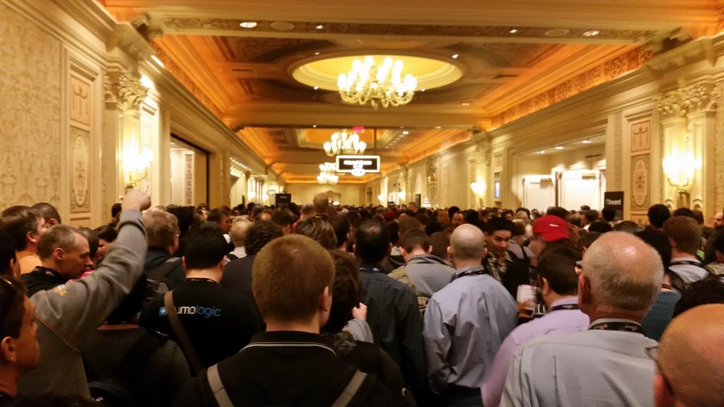 Heard at #reinvent 'Are we at @Docker con?' http://t.co/3vvzLWl3P9