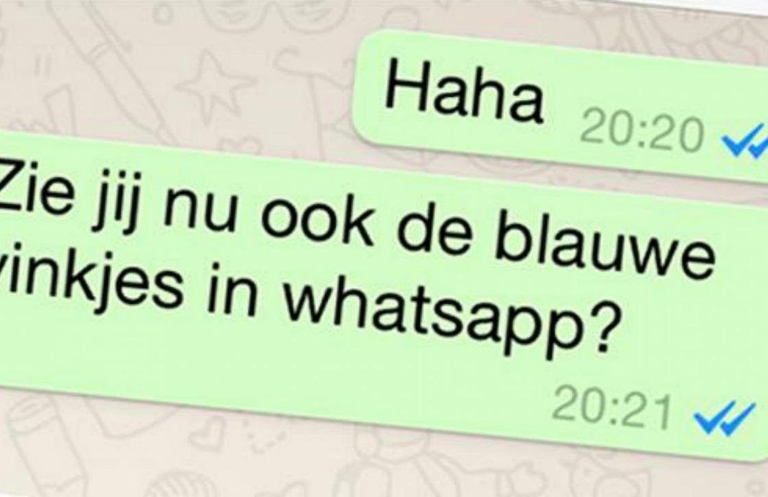 Blauwe vinkjes in WhatsApp nu uit te schakelen → http://t.co/JM34GPR1lb door @danielverlaan #whatsapp http://t.co/AEXBG0O89F