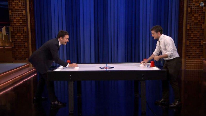 Josh Hutcherson Plays Beer Hockey and Reveals a 'Hunger Games' Secret