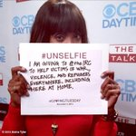 Getting into the spirit of the season. @theIRC #GivingTuesday #unselfie http://t.co/EXC9i1RDMu