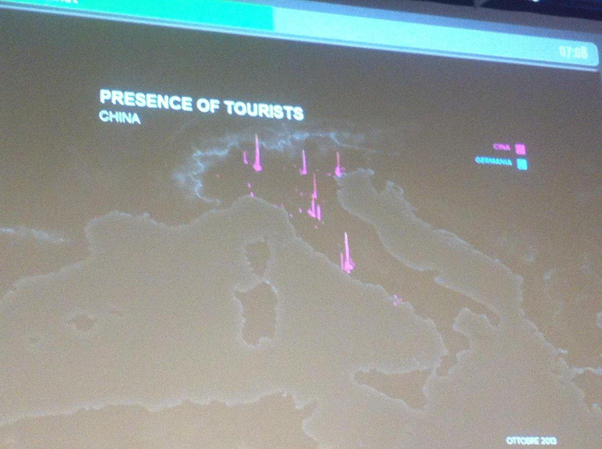 I cinesi non vengono in Italia, vengono in 4 città italiane. È diverso. @eurobeinat #BigData #bto2014 http://t.co/jthcWYUmrV