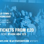 Morning #htafc fans! Match day! Pay on the gate available. Remember 12.15pm kick off. @townfoundation game (RM) http://t.co/45IvmCY1Qs