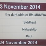 RT @nirbashito2014: #Nirbashito(Banished) spcl screening tomorrow @ 4:15pm #IFFIGoa,@nfdcindia Filmbazaar with drctr @utterlyChurni