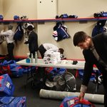 The Pats have arrived in Victoria and are settling in. Meanwhile theres some BCMML action on the ice #Gamechangers http://t.co/EOEdJT10kz
