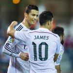 Ronaldo & James combined for 48 goals this season, so far. James: 7 goals, 9 assists Ronaldo: 25 goals, 7 assists http://t.co/2U6Xam2a4b