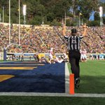 """""""@StanfordFball: Stanford strikes first in the 117th Big Game! Touchdown @Blaq_Cognizance! #BeatCal #GoStanford http://t.co/8WQpAICt9m"""""""
