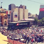 What a wonderful crowd. Hope youre listening @tonyabbottmhr #ourabc http://t.co/tmrMbcKu8h
