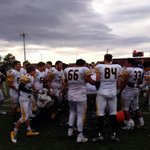 Pueblo East in the State Championship Game! Coach Ramirez with the ice bucket shower! @PuebloRdoSports @EastEagles59 http://t.co/4SgAlmjPJU