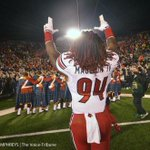 @ElleRaiser Does it get better than this? @Lozo_Mauldin_IV saying goodnight to #NotreDame http://t.co/KCUbefVUc1