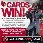 FB: CARDS WIN! Start planning now for a @UofLFootball Bowl Game, visit: http://t.co/1lj6eFxi4E. #L1C4 http://t.co/O2qSILmCPD