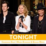 Soirée Double #SNL : #SNLQC est terminé #SNL avec #CameronDiaz et #BrunoMars dans 60 minutes ! http://t.co/PTSnJNKJgA