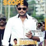 Kannada superstar Darshan on South Scope November issue cover! Thank you @dasadarshan