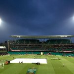 Aussie innings reduced to 48 overs with play set to resume in about 10 minutes: http://t.co/hmjevzQH90 #AUSvSA http://t.co/TEpX8mQ5Bs