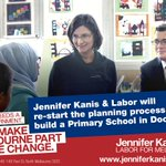 Only @VictorianLabor will re-start the planning process to build a primary school in Docklands. #VicVotes #Melbourne http://t.co/AozYbJs56s