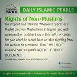 The Rights of NON Muslims. What the Prophet Muhammad (PBUH) Said. A Must Read Cc @ngunjiriwambugu @kipmurkomen http://t.co/PP13z1l98h