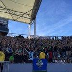 Seattle Sounders FC supporters away at LA. #mls #mlsplayoffs #awaydays #ebfg #LAvSEA http://t.co/XJAAejKC62