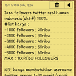 *followers murah* bukti konsumen silakan cek fav ya bisa via pulsa list harga cek foto, minat? invite 7E9FF3B9 :) http://t.co/6oNb28HFkT
