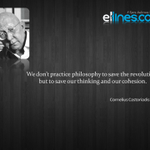 Cornelius Castoriadis: One of the greatest philosophers of the 20th century http://t.co/SkVO6JIQOm #ellines #quote http://t.co/wNDFa5UvU9