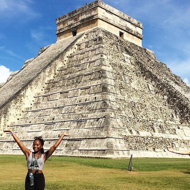 Majestic. @jblemish // Chichen Itza, Mexico. #travelnoire #chichenitza http://t.co/3MQYTJcT3q