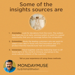 @AbhijitBhaduri  says every pain point is an opportunity to innovate.  #mondaymuse
