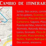 Nuevo itinerario para la Salida Procesional 2015 #CofradiasMLG http://t.co/sk8eDCL2qf