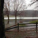 Twitter / @aaronofseyer: Minor flooding at Richmond ...