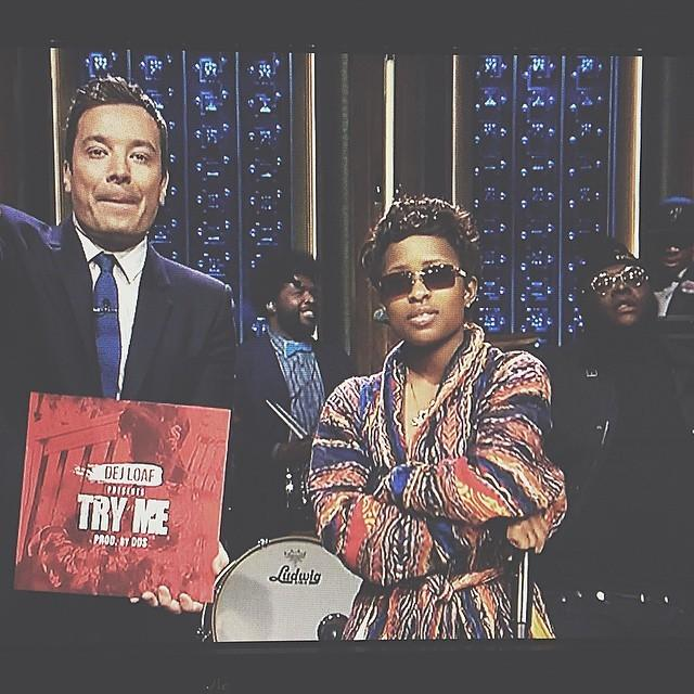 It don't get no bigger than this!!! @dejloaf & @obarowland on the tonight show w/ the Roots!!! #gocrazy http://t.co/NOkEeYDBbl