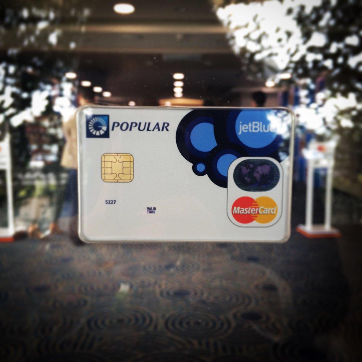 Te presentamos la nueva tarjeta #JetBlueMasterCard. http://t.co/GxZLsQixYC