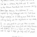We got this letter from an awesome little man who is doing all he can to end hunger in his community. Thanks Connor! http://t.co/I48yOYosgx