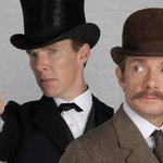 RT @TheIndyTV: Sherlock series 4: First look at Martin Freeman and Benedict Cumberbatch hints at time travel http://t.co/kgtsSyWRxY http://…