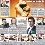 Proud moments for PAKISTAN..Worlds top ten powerful politicians... @ImranKhanPTI  is on 3rd Number #FinalFightIsHere http://t.co/TyCEjxij46