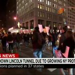 Images of protests in NYC & L.A. #AC360 is live from #Ferguson w/ latest on protests across the country. 8pET on @CNN http://t.co/94HxRdODeC
