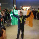 @olympiccouncil @sportireland welcome home delegation for @KatieTaylor @IABABOXING with Minister Ring http://t.co/KU95zcb1KL