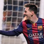 Is there a record Lionel Messi doesnt hold? Hat trick today is 5th in Champions League, 2 more than any player ever. http://t.co/0Yovmj6e9W