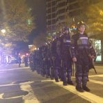 APD in riot gear assembled at baker and ptree #shutitdownatl #atlferguson http://t.co/J4g7jXkXHL