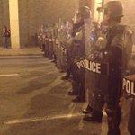 Atlanta Police in riot gear are mobilizing across spring street. #ATLFerguson #ShutItDownATL http://t.co/36tw9SFOTi