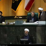 President @HassanRouhani in #Majlis to defend #science minister nominee #Iran #Rouhani http://t.co/ocwtJuI7Og http://t.co/iHty3zzfGI