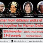 #WomenDialogue Live at: https://t.co/RpuO2CQqO5 http://t.co/sH3Zxc9oXq