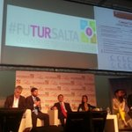 """Ahora en #Futursalta el panel """"Salta, una gestión sustentable en turismo"""" @SaltaTurismo http://t.co/q5UKWFHDvB"""