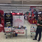 FoodBank going well in Watford, customers donated a full trolley in the past hour @TescoWatford @dmc733 @steviegosboy http://t.co/hIjFLqlfaX