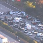 WATCH LIVE: Protest stops traffic on 5 Fwy in La Jolla. http://t.co/oYG1PNtRaY http://t.co/MOuhpplXqz