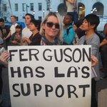 """""""#Ferguson u have #LosAngeles support. #BlackLivesMatter #AllLivesMatter @RadioFreeKJLH @kjlhfrontpage @KTLAnewsdesk http://t.co/gRk2tZK8Ew"""""""