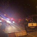 Explosión en estación de Policía del barrio Ospina Pérez. Foto vía @emergencyjag http://t.co/VJF84lo7fJ http://t.co/46WGPIEHOg