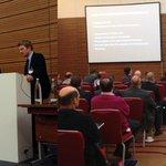 Gastredner Prof. Dr. Walter Swoboda und Robert Vattig über die Bedrohungslage in Krankenhäusern #mmshackerday http://t.co/pUFH3IOZI4