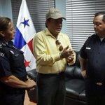 El excampeón mundial de boxeo Roberto Durán recibirá en la Policía Nacional a Atheyna Bylon. http://t.co/ZbdJ31APDh