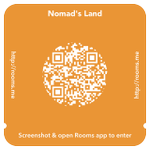 Be Here. #BeNomad > Use this invite to chat with Nomads Land in Rooms. [Get #Rooms at http://t.co/kSKu31eXLp] http://t.co/JkCnU61nIR