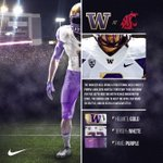 When they travel into hostile territory for the 107th #AppleCup, the Huskies will wear gold/white/purple. #UWHuskies http://t.co/p06o9sWMzE