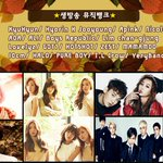 Music Bank line-up tonight: Kyuhyun GOT7 Halo Boys Republic Hyorin X Jooyoung Nicole A Pink AOA Mamamoo Lovelyz, etc https://t.co/uVbYRLaErr