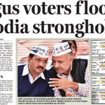 We saw massive bogus voting in varanasi to aid Feku. The same is now being done by Modi govt in Delhi. @msisodia http://t.co/EjXHs0QmBp