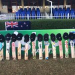 The BLACKCAPS pay tribute to Phil Hughes ahead of day two of the Test #putoutyourbats #pakvnz ^CE http://t.co/s0l58YlTGh
